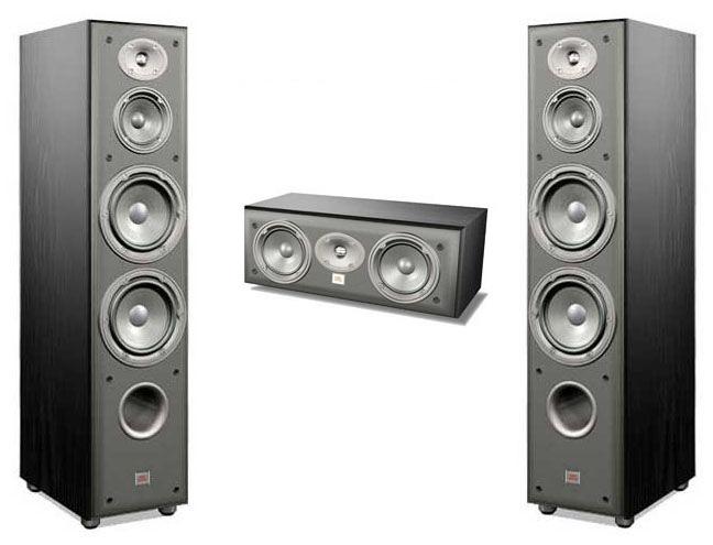 Floorstanding Speakers Jbl E80  Ec25