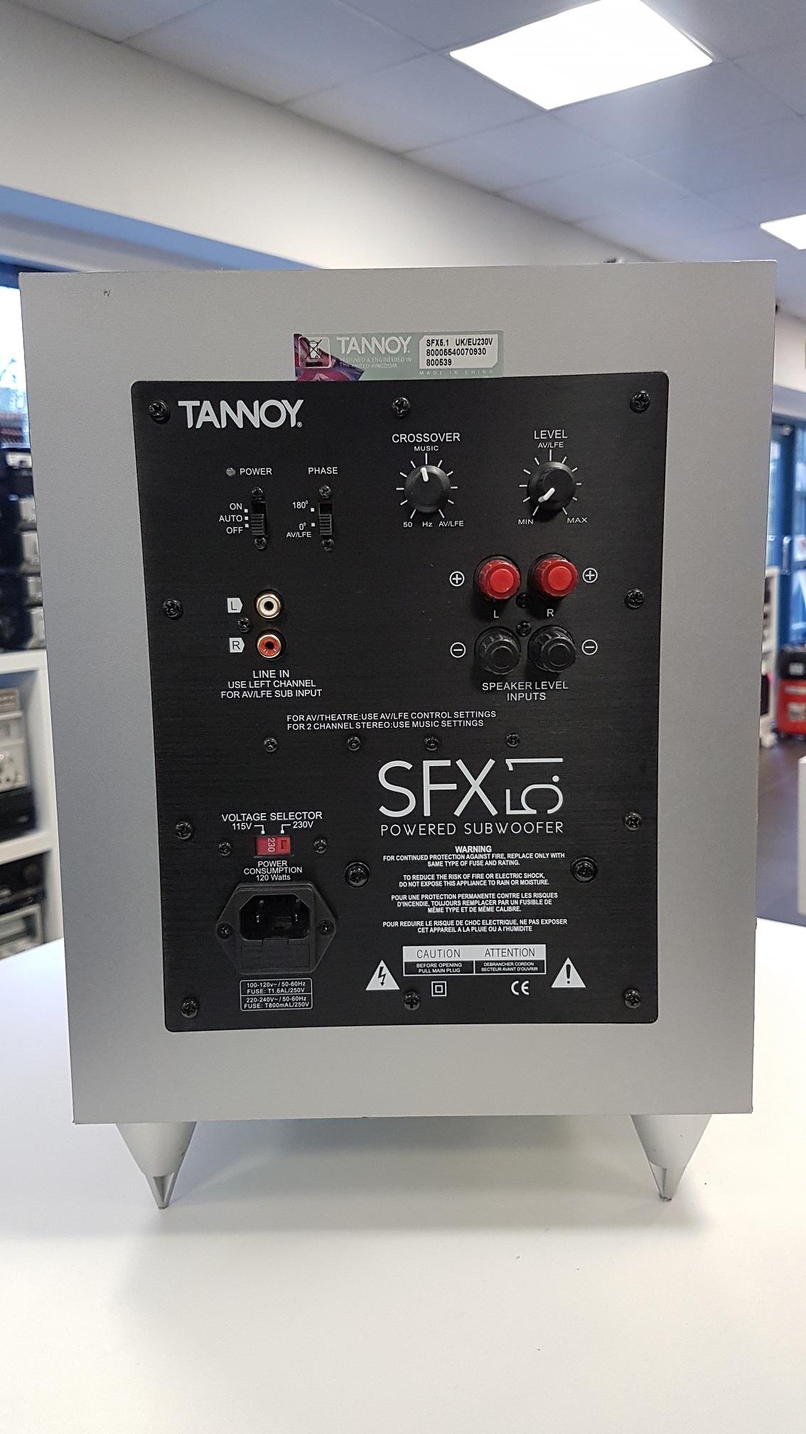 Tannoy Sfx Subwoofer Elektroonika